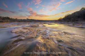 Magical Light over the Pedernales River 1