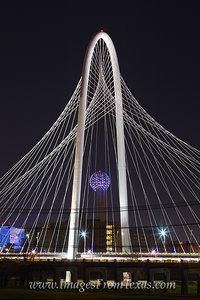Margaret Hunt Hill Bridge at Night 1