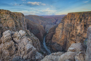 Mariscal Canyon Afternoon, Big Bend National Park 2