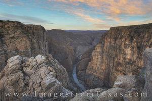 Mariscal Canyon Evening, Big Bend 5