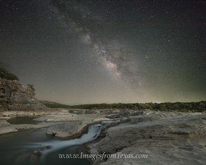 The Milky Way over Texas