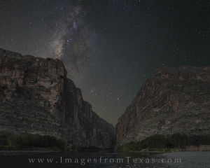 Milky Way over Santa Elena Canyon 1