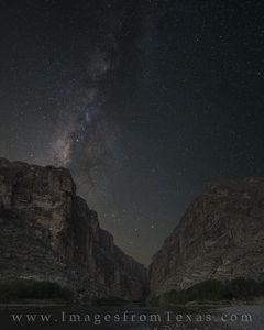 Milky Way over Santa Elena Canyon 2