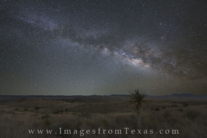 Milky Way over the Davis Mountains 1