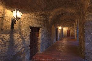 Mission Concepcion Hallway 1 - San Antonio, Texas