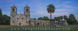 Mission Concepcion Panorama 1 - San Antonio