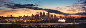 Panorama of Austin from Zilker 1