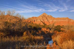 Morning at Capitol Peak, Palo Duro Canyon 1