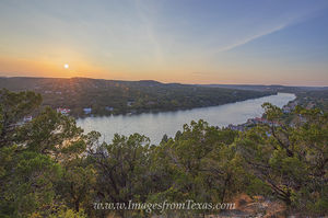 Mount Bonnell October Sunset 1