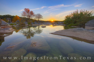 November Sunrise in the Texas Hill Country 1