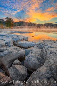 November Sunrise over the Pedernales River 2