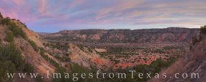 Palo Duro Canyon Panorama November Morning 1