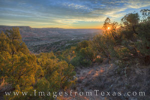 Palo Duro Canyon Rim Sunrise 1