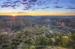Palo Duro Canyon Sunrise 1