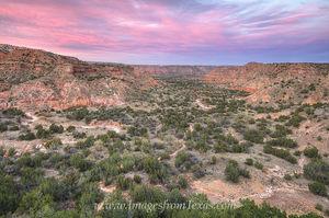 Palo Duro Canyon Sunset 1