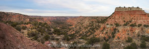 Palo Duro Canyon from the Lighthouse Pano 2