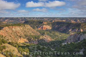 Palo Duro Canyon in the Late Afternoon 723-1
