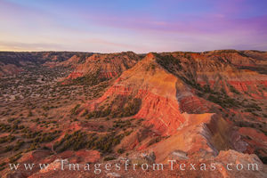 Palo Duro from Capitol Peak before Sunrise 1125-1