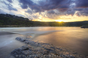 Pedernales Flood Sunrise