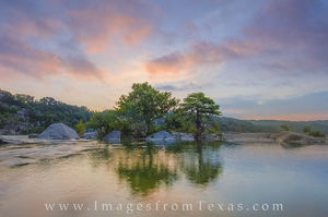Pedernales Reflections in June 1