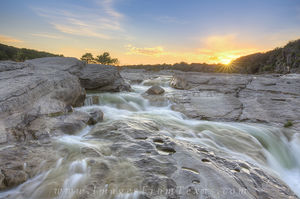 Pedernales River June Sunset 1