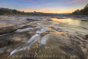 Pedernales River September Sunrise 1