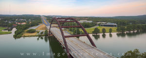 Pennybacker Bridge Panorama July Morning 1