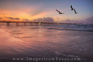 Port Aransas Caldwell Pier Sunrise 2
