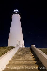 Port Isabel Lighthouse at Night 2