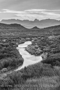 Rio Grande in in Black and White 312-1
