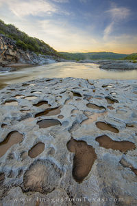 Rock Pools along the Pedernales River 1