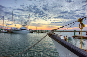 Rockport Tx Images - Boats in Harbor 4