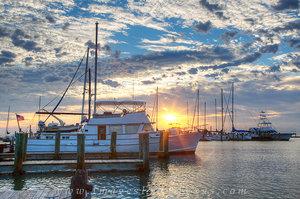 Sunrise over Rockport Harbor 9