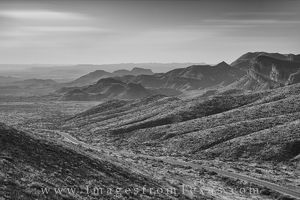 Ross Maxwell Scenic Highway, Black and White 2