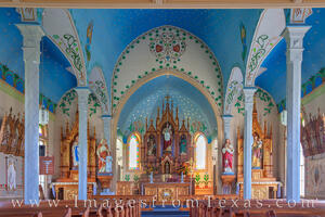 Painted Churches of Texas Images and Prints