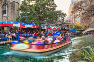 San Antonio Riverwalk Afternoon 2