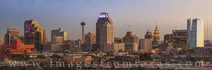 San Antonio Skyline Panorama 10319-2