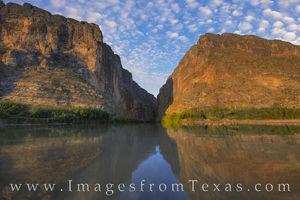 Santa Elena Canyon November Morning 1