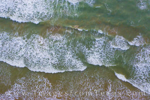 South Padre Waves Aerial View 510-1