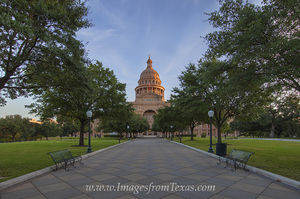 State Capitol, Austin Texas, October 1