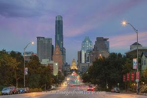 Texas Capitol from Congress November 1
