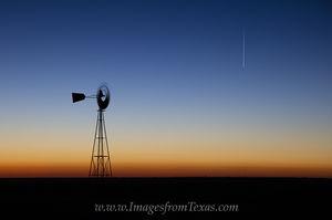 Texas Windmill before Sunrise 1