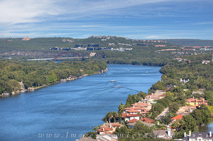 360 Bridge from Mount Bonnell Afternoon