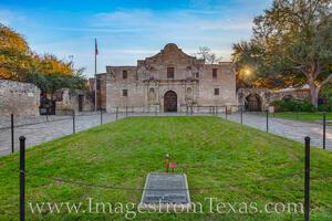 The Alamo at Sunrise 1231-1
