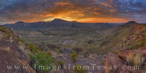 The Solitario Sunrise Panorama 106-2