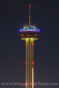 Tower of the Americas at Night 1