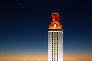 UT Tower from West Campus