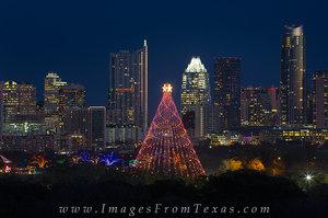Zilker Park Christmas Tree, Austin Tx 2