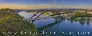 360 Bridge Summer Morning Aerial 1