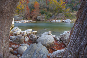 A Rock to Rest on in Pedernales Falls St